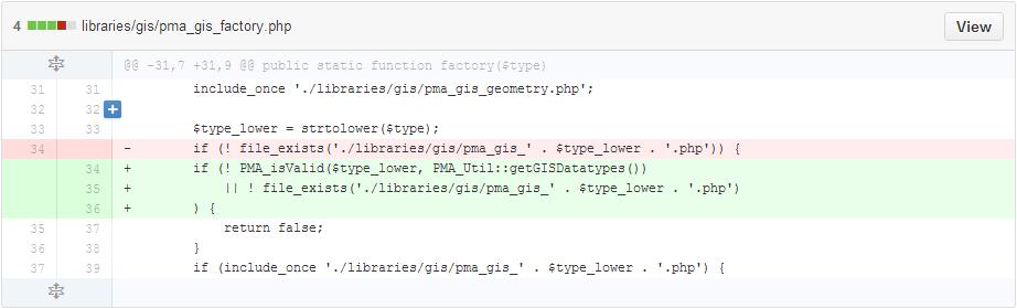 [CVE-2014-8959]phpmyadmin任意文件包含漏洞分析